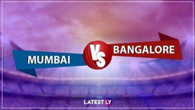 RCB Vs MI 2020 Live Streaming: रॉयल चॅलेंजर्स बंगळरू विरुद्ध मुंबई इंडियन्स यांच्यातील आयपीएल लाईव्ह सामना आणि स्कोर पाहा Disney आणि Star Network वर