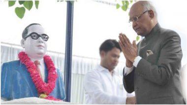 Ambedkar Jayanti 2019: आंबेडकर जयंती निमित्त राष्ट्रपती रामनाथ कोविंद आणि पंतप्रधान नरेंद्र मोदी यांनी देशवासियांना दिल्या खास शुभेच्छा!