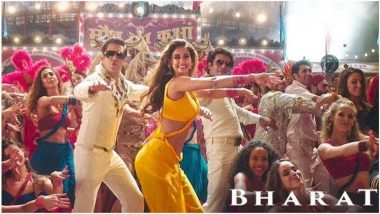 Bharat Song Slow Motion: भारत सिनेमाचं 'स्लो मोशन' हे पहिलं गाणं प्रदर्शित, सलमान खान आणि दिशा पटाणीचा रेट्रो लूक झाला हिट (Watch Video)