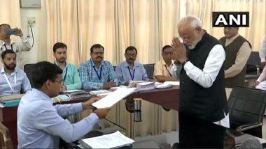 Loksabha Elections 2019: काळभैरवाच्या पूजेनंतर पंतप्रधान नरेंद्र मोदी यांचा वाराणसी येथून उमेदवारी अर्ज दाखल