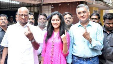 Lok Sabha Elections 2019: मतदार निर्णायक मतदान करतील: शरद पवार यांनी व्यक्त केली अपेक्षा