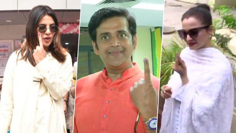 Lok Sabha Elections 2019 Voting: तैमुरसह करीना कपूर खान पोहचली मतदान केंद्रावर, प्रियंका चोप्रा,आमिर खान सह अनेक बॉलिवूड सेलिब्रिटींनी मुंबई मध्ये केलं मतदान
