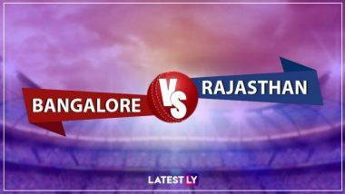 RCB vs RR, IPL 2019 Live Cricket Streaming: रॉयल चॅलेंजर्स बंगलोर विरुद्ध राजस्थान रॉयल्स संघांची लढत; पहा लाईव्ह सामना Star Sports आणि Hotstar Online वर