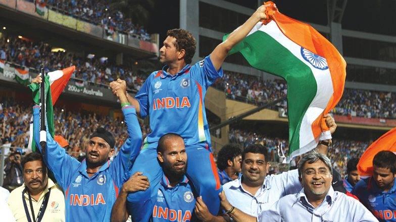 2011 वर्ल्डकप च्या आठवणींना 'सचिन तेंडुलकर'ने दिला उजाळा; 2019 World Cup साठी भारतीय क्रिकेट संघाला दिल्या शुभेच्छा  (Watch Video)