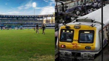 IPL 2019: वानखेडे स्टेडियम वर IPL सामने पाहण्यासाठी येणार्यांना 'पश्चिम रेल्वे'ची खास भेट; रात्री उशिरा धावणार चर्चगेट-विरार दरम्यान विशेष धीमी लोकल