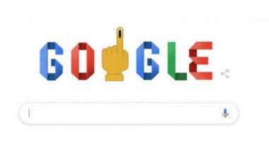 How To Vote #India? लोकसभा निवडणूक 2019 च्या दुसऱ्या टप्प्यात मतदानाच्या संदेशासह मतदान कसं कराल हे सांगणारं 'गूगल डूडल'