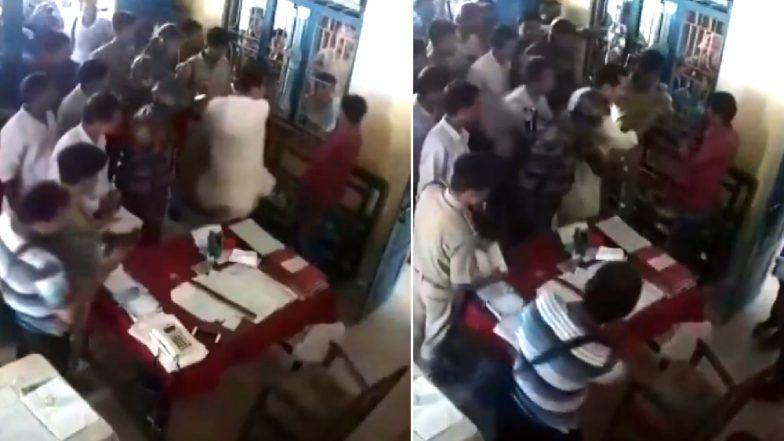 त्रिपूरा: काँग्रेस पक्षाच्या अध्यक्षाने पोलीस स्थानकात व्यक्तीला कानाखाली मारले, व्हिडिओ सोशल मीडियावर व्हायरल (Video)
