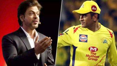 IPL 2019: चेन्नई सुपर किंग्सच्या विजयानंतर शाहरुख खान, महेंद्रसिंग धोनी आणि साक्षी धोनी यांचा 'हा' फोटो सोशल मीडियात व्हायरल (Photo)