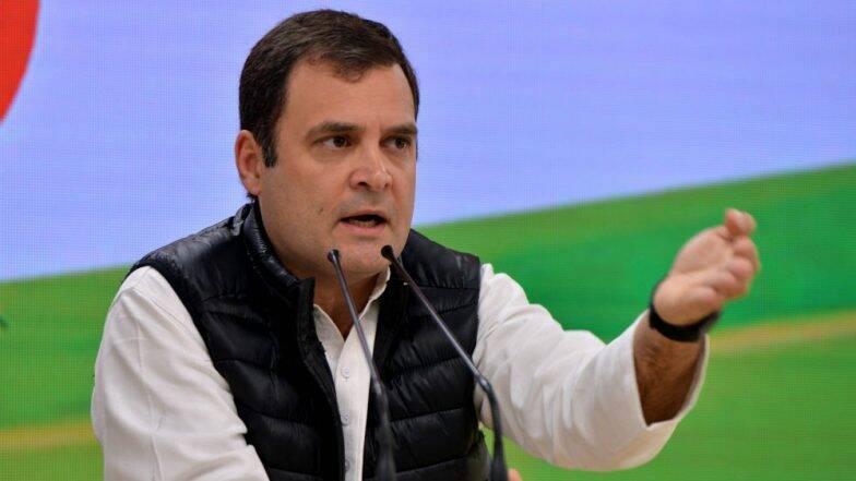 काँग्रेसचे 52 खासदार देशाचं संविधान वाचवण्यासाठी भाजपाला इंचा इंचाची टक्कर देणार: राहुल गांधी