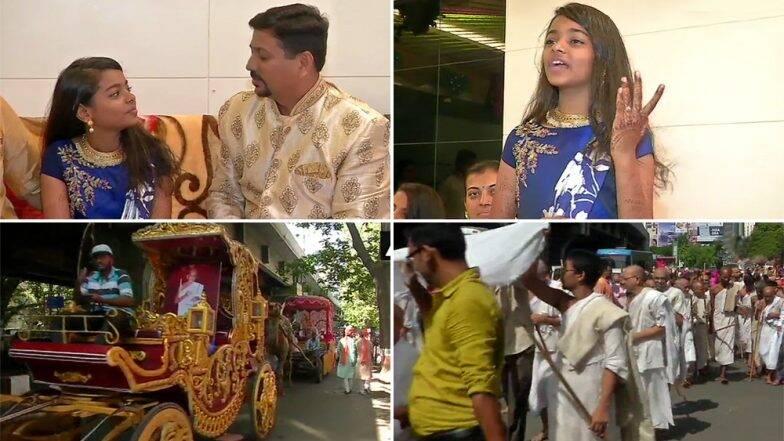गुजरात: सूरत येथे 12 वर्षीय खुशी शहा आज घेणार जैन धर्माची दीक्षा