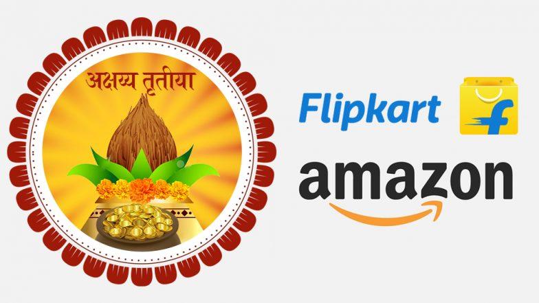 Akshaya Tritiya 2019 Bumper Offers On Amazon & Flipkart: अक्षय्य तृतीयाचे औचित्य साधून अॅमेझॉन आणि फ्लिपकार्टवर मिळत आहेत या धमाकेदार ऑफर्स