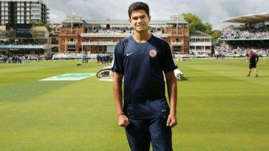 Syed Mushtaq Ali Trophy साठी अर्जुन तेंडुलकरचं मुंबईच्या Senior Team मध्ये पदार्पण