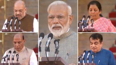 Modi Cabinet 2019 खाते वाटप जाहीर; अमित शहा गृहमंत्री तर निर्मला सीतारामण अर्थमंत्री