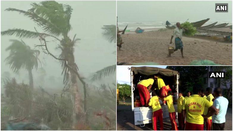 Cyclone Fani Updates: फनी वादळ ओडीसा राज्यातील गोपाळपूर, चांदबळीपर्यंत पोहोचले, नागरिकांच्या मतदीसाठी बचाव पथक सज्ज, पर्यटकांच्या सुरक्षेसाठी विशेष ट्रेन तैनात, 100 हून अधिक रेल्वे गाड्या रद्द