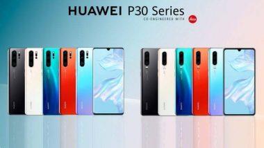 Huawei P30 Lite ची प्री बुकिंग 10 मे पासून होणार सुरु;  2,200 रुपयांच्या कॅशबॅकसह मिळेल 2.2TB डेटा फ्री
