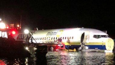 लॅंडिंग करताना बोइंग 737 विमान नदीत कोसळले; सर्व 136 प्रवासी सुरक्षित
