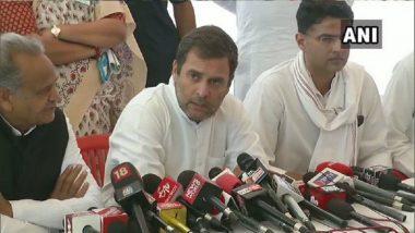 Alwar Gangrape Case: राहुल गांधी यांच्या भेटीनंतर अलवार येथील बलात्कार पीडित कुटुंबाला न्यायाबद्दल दिलासा