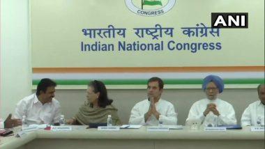 राहुल गांधी काँग्रेस अध्यक्ष पदावर कायम; पक्षाच्या कार्यकारिणी समितीने फेटाळला राजीनामा; देशभरात प्रादेशिक नेतृत्व बदलाचे संकेत