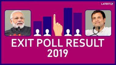 Exit Poll Results 2019 India: 'एक्झिट पोल'चे अंदाज एनडीच्या बाजूने; देशात पुन्हा मोदी सरकार