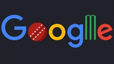 क्रिकेट विश्वचषक २०१९ Google Doodle: गूगल डूडल वरही क्रिकेट फिव्हर, लंडन मध्ये होणार Cricket World Cup ला आजपासून सुरूवात