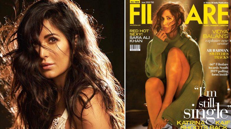 'Filmfare' मासिकावरील अभिनेत्री कैटरीना कैफ चे हॉट फोटो चर्चेत