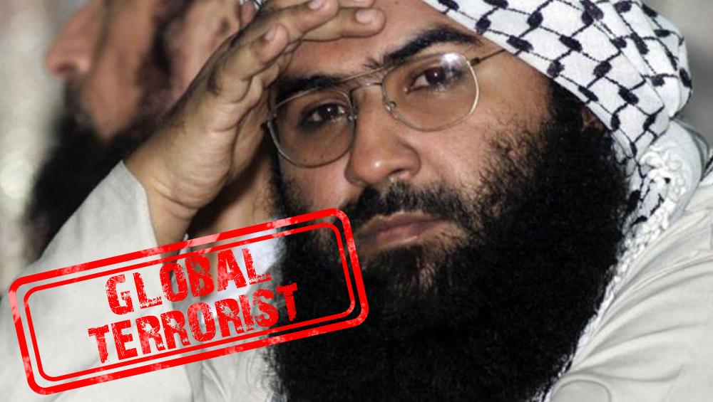 'जैश-ए-मोहम्मद'चा प्रमुख मसूद अजहर आंतरराष्ट्रीय दहशतवादी म्हणून घोषित