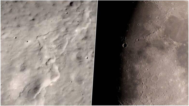 चंद्र 50 मीटरने आकुंचित; नासा संशोधकांकडून Moonquakes मुळे बदल होत असल्याचा दावा  (Watch Video)