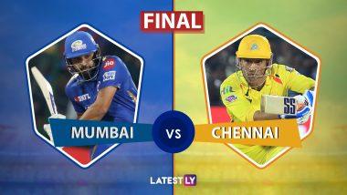 IPL 2019 Final: मुंबई इंडियन्स विरुद्ध चेन्नई सुपर किंग्स या रोमांचक अंतिम सामन्यात 1 धावांनी विजय मिळवत मुंबई संघाने आयपीएल 12 च्या चषकावर नाव कोरले