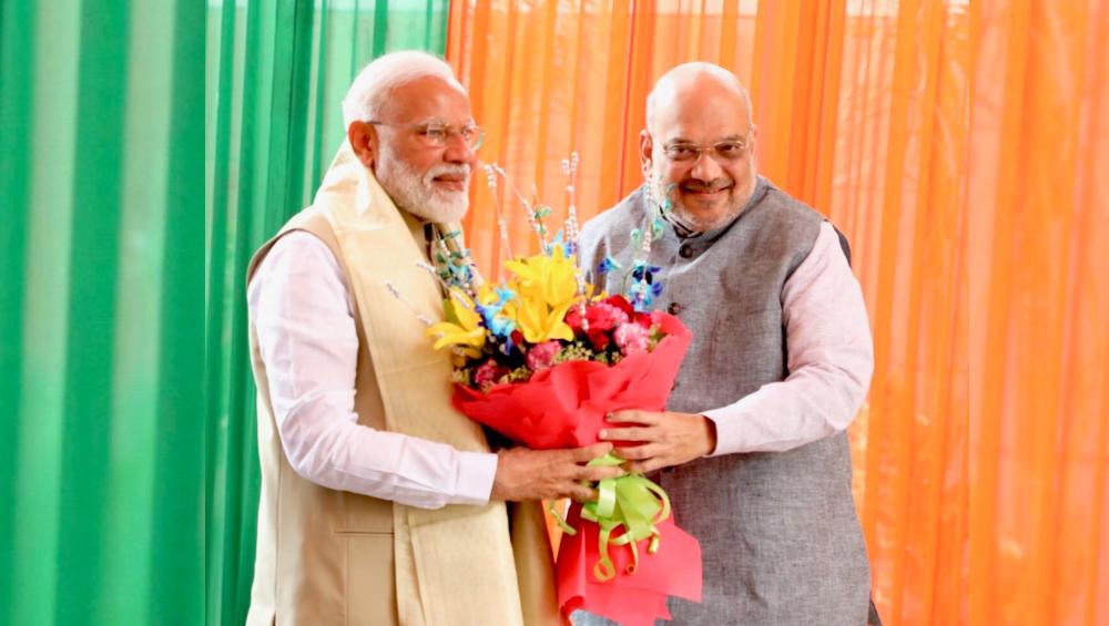 Amit Shah Birthday: केंद्रीय गृहमंत्री अमित शहा यांना वाढदिवसाच्या पंतप्रधान नरेंद्र मोदी यांनी दिल्या शुभेच्छा
