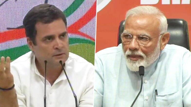 Lok Sabha Elections 2019: पंतप्रधान नरेंद्र मोदी यांची पत्रकार परिषद ही बंद खोलीत, राहुल गांधी यांचा आरोप