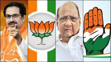 महाराष्ट्रात शिवसेनेचा आवाज वाढला, जाणून घ्या भाजप, राष्ट्रवादी काँग्रेस, काँग्रेस या पक्षांना किती टक्के मतं मिळाली?