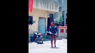 पुण्यात गुंडाचा धारधार हत्यार घेऊन Tik Tok व्हिडिओ व्हायरल; पोलिसांकडून अटक (Video)