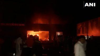 पुणे: साडी सेंटरला लागलेल्या भीषण आगीत 5 कामगारांचा मृत्यू