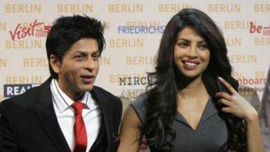 पहिल्या भेटीत शाहरुख खान याने प्रियांका चोप्रा हिला विचारला होता लग्नाबद्दलचा 'हा' प्रश्न (Video)