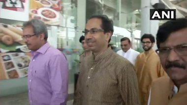 शिवसेना पक्षप्रमुख उद्धव ठाकरे एनडीएच्या बैठकीसाठी दिल्ली मध्ये दाखल