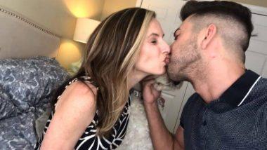 Youtube वर प्रसिद्धीसाठी त्याने बहिणीला किस केल्यानंतर, आता आईसोबतचा Lip to Lip Kiss व्हायरल (Video)
