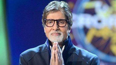 फनी वादळाचा फटका बसलेल्या लोकांना अमिताभ बच्चन यांचा मदतीचा हात