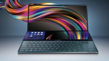 Asus ने लॉन्च केला दोन स्क्रीन असणारा लॅपटॉप; पहा काय आहेत फिचर्स