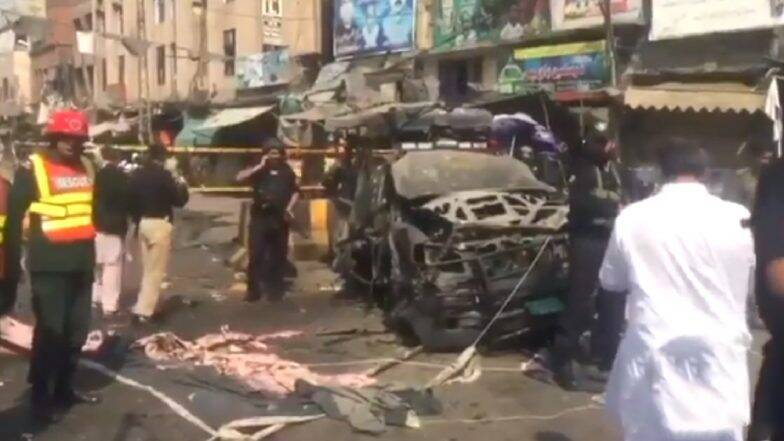 लाहोरमधील दर्ग्याबाहेर दहशतवाद्यांचा आत्मघातकी हल्ला, हल्ल्यात 4 लोकांचा मृत्यू