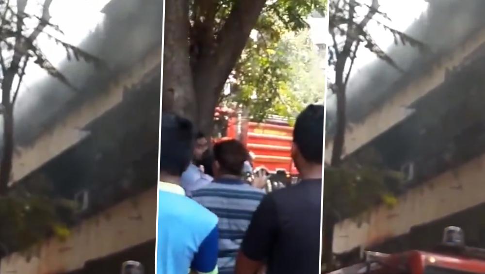 मुंबई: दादर पोलिस स्टेशन कॉलनी मध्ये सिलेंडरचा स्फोट;  आगीत होरपळून 15 वर्षाच्या मुलीचा मृत्यू  (Watch Video)