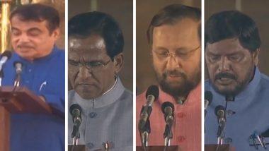 Modi Cabinet 2019: मोदी सरकारच्या नव्या मंत्रिमंडळात नितीन गडकरी, अरविंद सावंत यांच्यासह महाराष्ट्राच्या 7 खासदारांना कोणतं पद मिळालं?