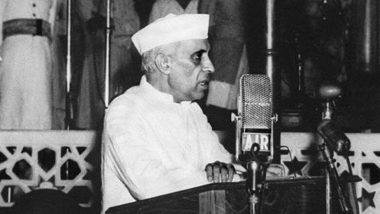 Jawaharlal Nehru 55th Death Anniversary: पंडित नेहरू यांच्या पुण्यतिथी दिनी सोनिया गांधी, राहुल गांधी सह कॉंग्रेस नेत्यांनी अर्पण केली श्रद्धांजली