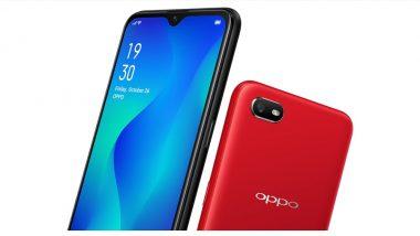 OPPO A1K भारतात लॉन्च; जाणून घ्या या बजेट स्मार्टफोनचे फिचर्स आणि किंमत