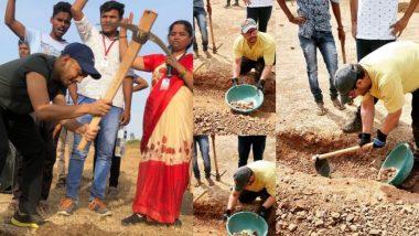Maharashtra Din & Labour Day 2019: आमिर खान सह मराठी सेलिब्रिटींचं महराष्ट्रातील दुष्काळग्रस्त भागात महाश्रमदान