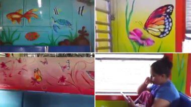 'भारतीय रेल्वे'चं महिला प्रवाशांसाठी खास गिफ्ट; आता सुंदर पेंटिंग असलेल्या डब्यातून करा प्रवास (पहा व्हिडिओ)