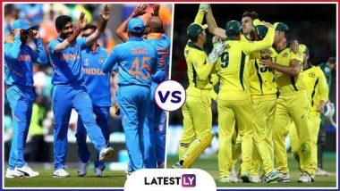 IND vs AUS, ICC Cricket World Cup 2019: ऑस्ट्रेलिया संघाला 353 धावांचं लक्ष्य