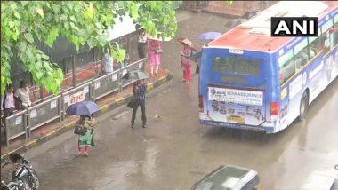MumbaiRains Update: मुंबई सह उपगनरांमध्ये जोरदार पावसाला सुरुवात; पहिल्याच पावसात पाणी साचण्यास सुरुवात