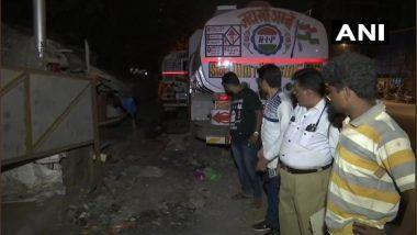 मुंबई: विक्रोळी येथील टँकर अपघातात फुटपाथवर झोपलेल्या दोन महिलांचा मृत्यू; एक जखमी