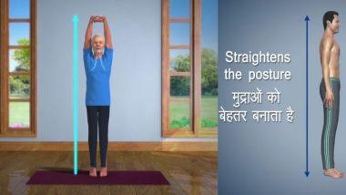 पंतप्रधान नरेंद्र मोदी यांचे योगासनं करतानाचे अॅनिमेडेट व्हिडिओज सोशल मीडियावर हिट; Yoga Day ची जय्यत तयारी