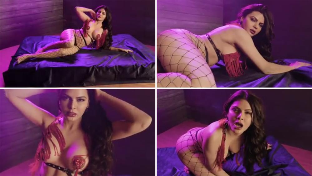 शर्लिन चोपड़ा च्या या 'Dirty' हॉट अदा पाहण्यासाठी तुम्ही आहात का तयार? एकट्यात पाहा हा व्हिडिओ